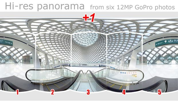 Pano5plus1 for GoPro 05